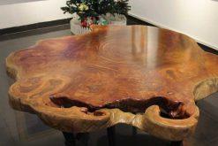 2-m Iron Wood Table