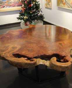2-m Iron Wood Table