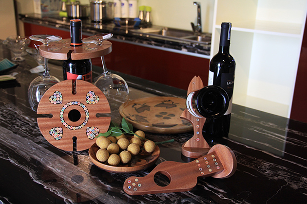 Amazing Wooden Wine Glass Holders