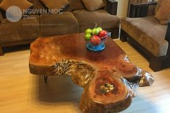 Bold Solid Coffee Table Modern Style with Hairpin Leg