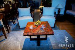 Brilliant Summer Colored-Pencil Coffee Table 2