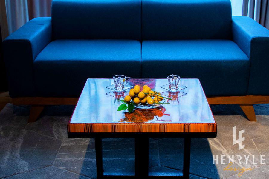 Brilliant Summer Colored-Pencil Coffee Table 3