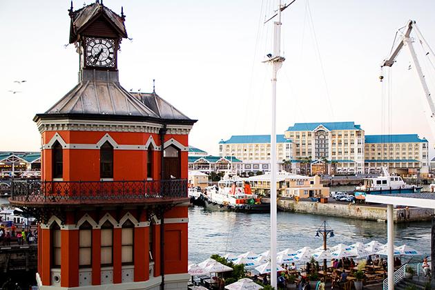 Clock in Cape Town