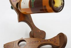 Colored-Pencil Fish Wine Bottle Holder