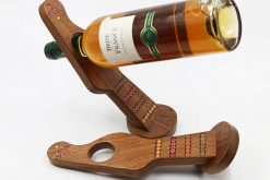 Colored-Pencil Guitar Wine Bottle Holder