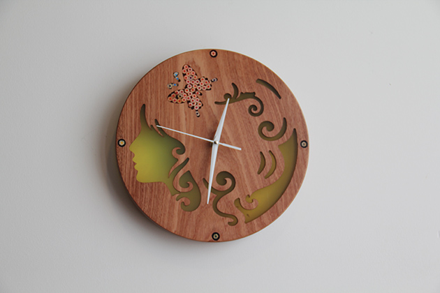 Cool Wooden Clocks