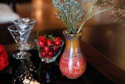 Decorative Peacock Vase 1