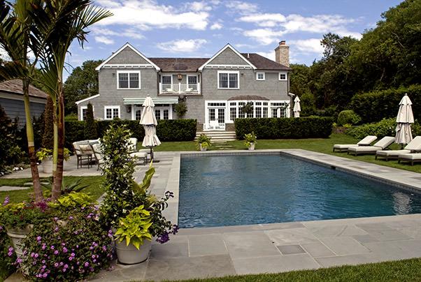 East Hamptons Poolside