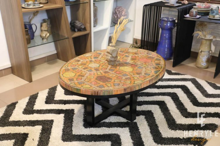 Endless Bound Colored Coffee Table 3