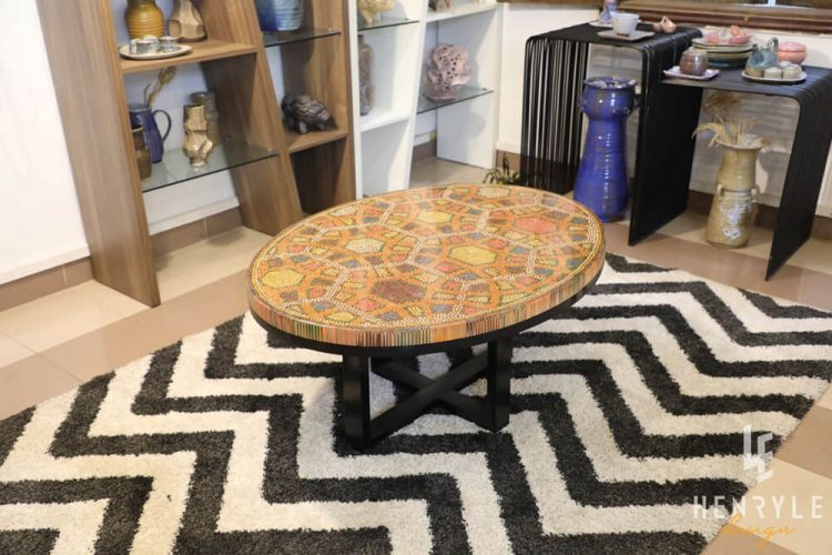 Endless Bound Colored Coffee Table 5