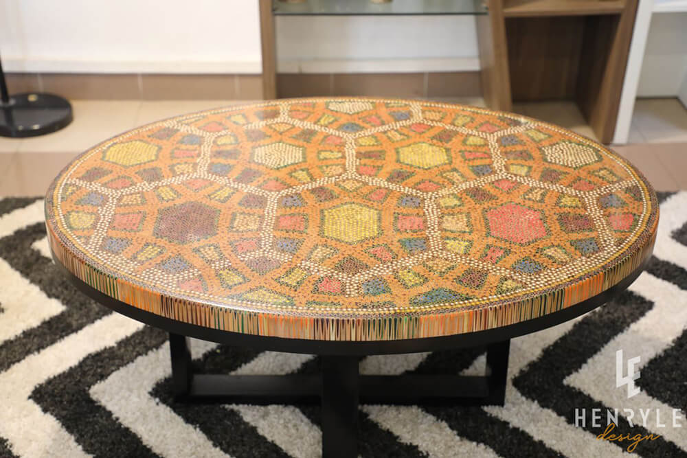 Endless Bound Colored Coffee Table 6