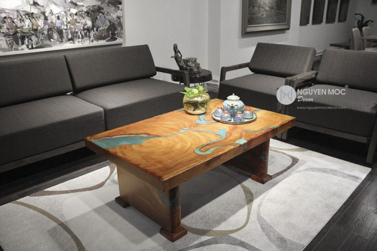 Flowing Rivers Coffee Table