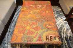 Garden of Eden Colored-Pencil Coffee Table 2