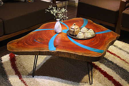 Great Combination of Art Woodworking