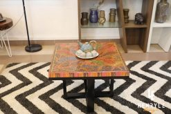Lotus Pond Colored-Pencil Coffee Table 2