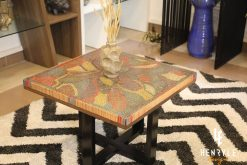 Lotus Pond Colored-Pencil Coffee Table II 1