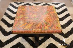 Lotus Pond Colored-Pencil Coffee Table III 2