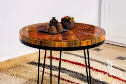 Lotus Pond Colored-Pencil Coffee Table IV 3