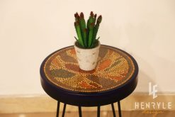 Lotus Pond Colored-Pencil Coffee Table VII 1