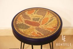 Lotus Pond Colored-Pencil Coffee Table VII 2
