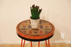 Lucky Coins Colored Pencil Coffee Table V