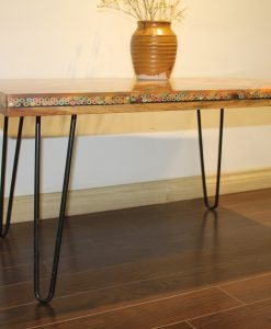 Metal Hairpin Coffee Table Leg 4 Cm 2 Rods