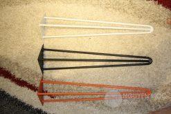 Metal Hairpin Coffee Table Leg 70 Cm 3 Rods