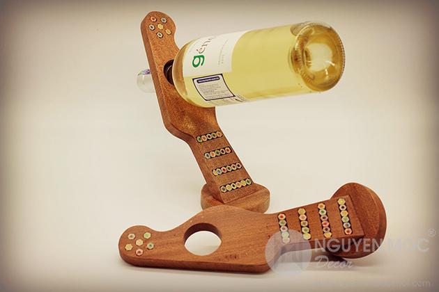 Stylish Wine Bottle & Glass Holders