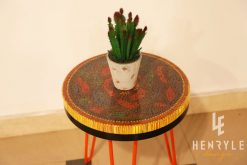 Rose Garden Colored Pencil Coffee Table IV