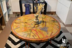 Golden Autumn Colored-Pencil Coffee Table bottle