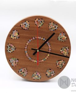 Rustic Love Clock