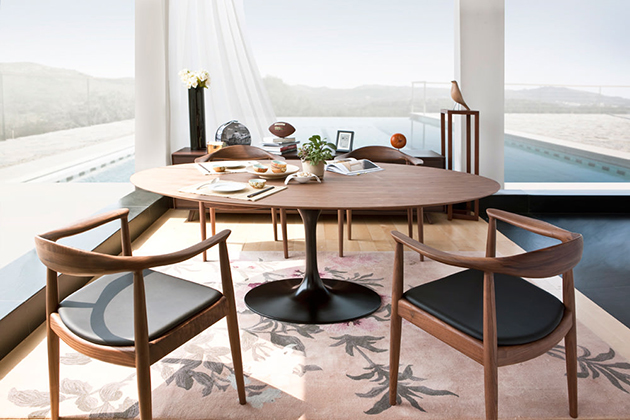 Simple Nordic and luxury dining tables
