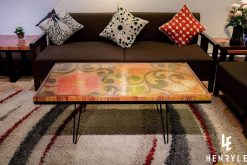Spring Day Colored Pencil Coffee Table