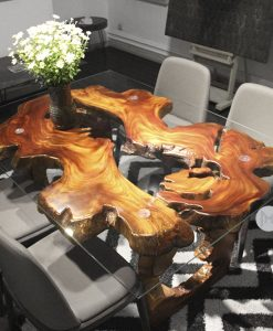 The Call of The Wild Wood Dining Table