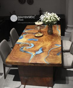 The Winding Rivers Dining Table