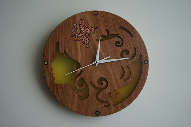 Unique Decorative Clock by Nguyen Moc