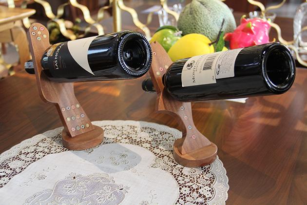 Unique Horizontal Wine Bottle Holder