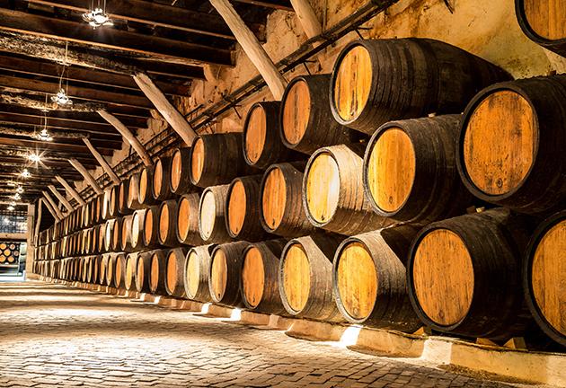 Wine Leaving Behind Barbarism