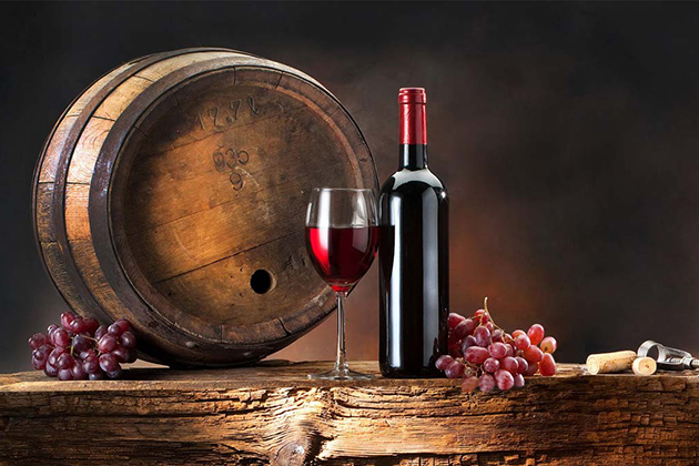 Wine reduces the risk of heart disease