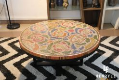 unique Rose Garden Colored Pencil Coffee Table